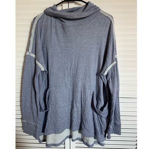 Free People Turtle Neck Sweater